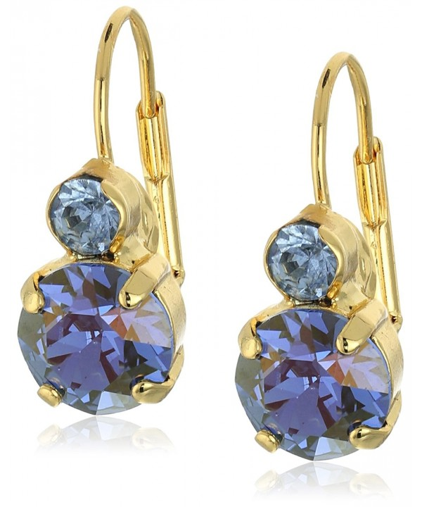 Sorrelli Sapphire Crystal French Earrings