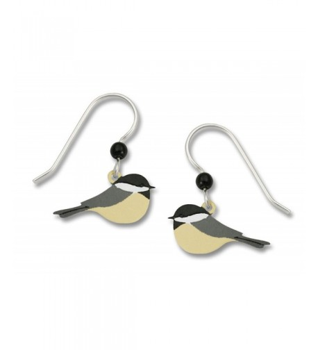 Sienna Chickadee Bird Earrings 1099 1