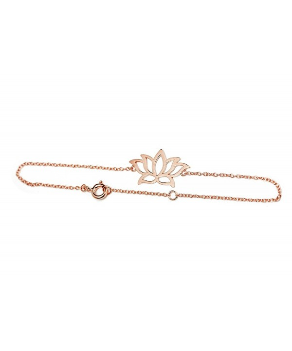 apop nyc Goldtone Bracelet rose goldtone silver