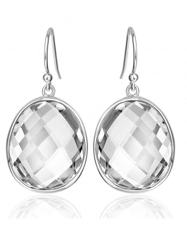 Sterling Gemstones Earrings Christmas Anniversary