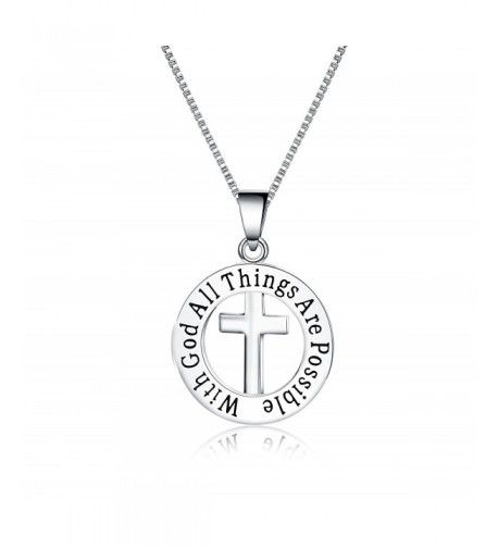 Inspirational Necklace Quotes Pendant Jewelry