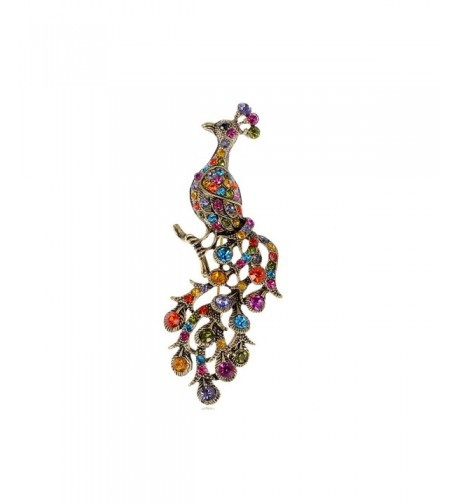Alilang Rainbow Crystal Rhinestone Perched
