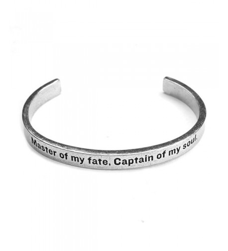 Womens Inspirational Lead Free Pewter Bracelet