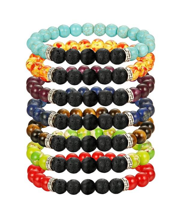 Bracelet FIBO STEEL Chakras Gemstone Bracelets