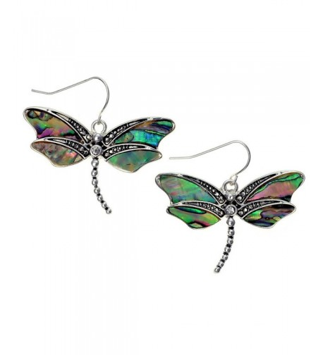 Liavys Dragonfly Fashionable Earrings Sparkling