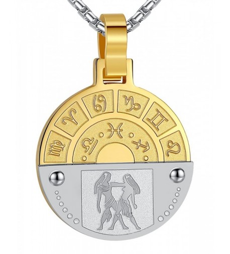 Stainless Horoscope Pendant Necklace ggp111jy