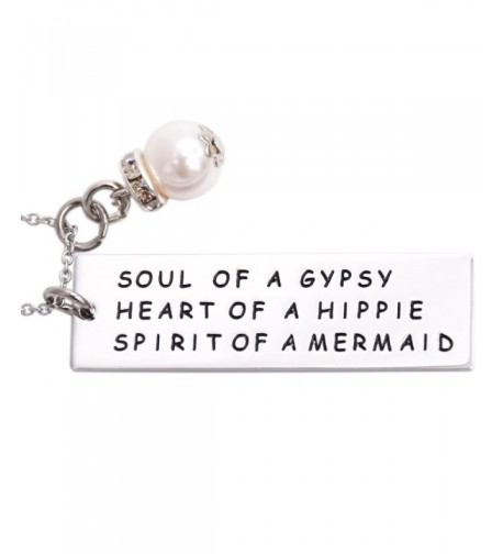 Necklace Sister Hippie Friend Mermaid