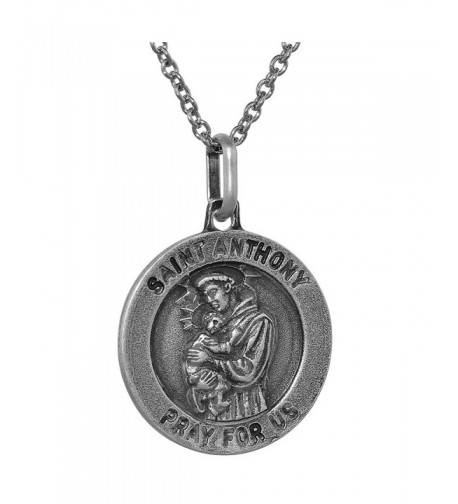 Sterling Silver Anthony necklace Antiqued