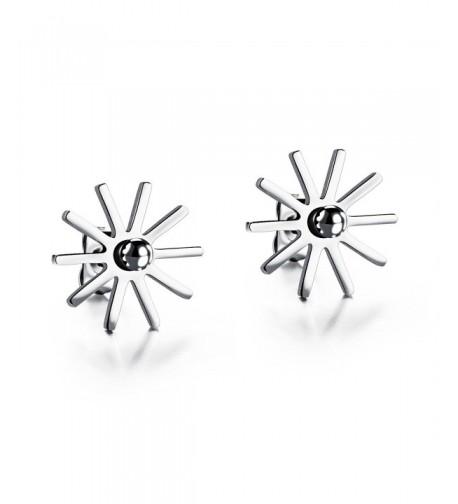 LOHOME Womens Fashion Earrings Titanium