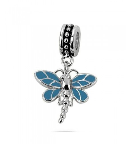 Sterling Dragonfly Turquoise Chamilia Braceletcan