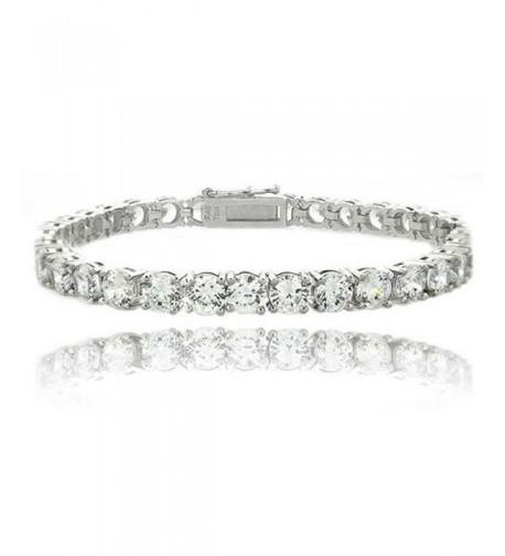 Heart Charms Zirconia Bracelet Bracelets