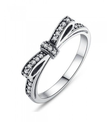 BAMOER Sterling Gemstone Infinity Romantic