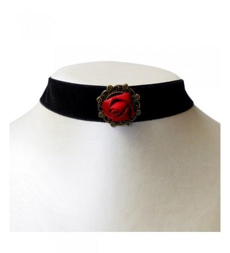 RareLove Gothic Velvet Choker Necklace