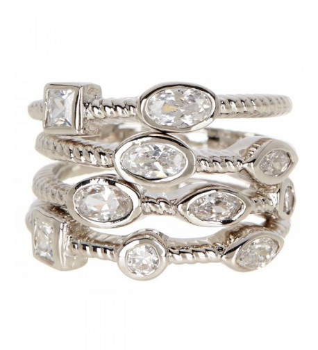 Silver Wholesale Gemstone Jewelry Stackable