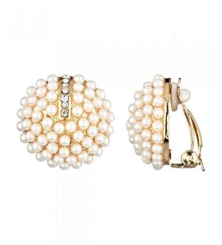 Valeries Imitation Cluster Button Earrings