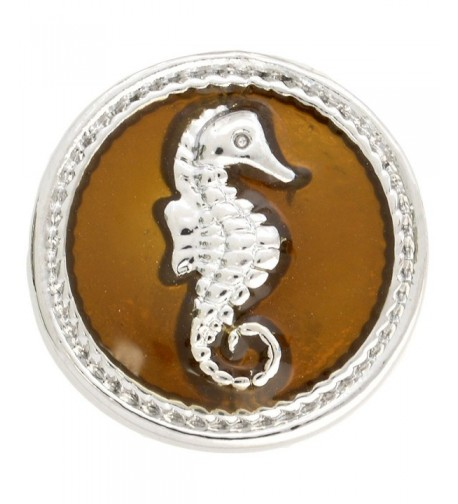 Brown Seahorse Enamel Nugz interchangeable