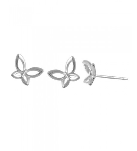 Boma Sterling Silver Butterfly Earrings