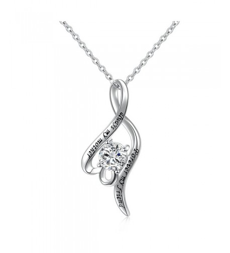 Sterling Silver Forever Pendant Necklace