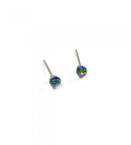 Vitrail Faceted Swarovski Crystal Earrings
