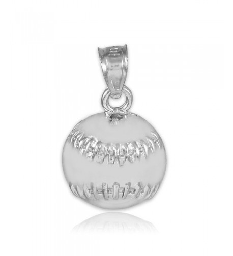 Baseball Softball Sterling Sports Pendant