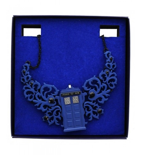 Doctor Who TARDIS Statement Necklace