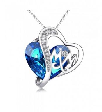 Necklace Swarovski Crystals Sterling Necklaces