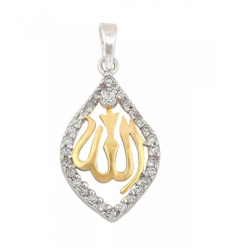 Sterling Silver Yellow Gold Plated Pendant