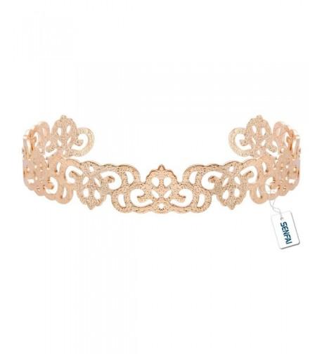 SENFAI frosted Opening Bracelet Jewelry