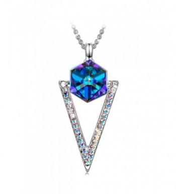 SIVERY Mothers Necklace Swarovski Crystal