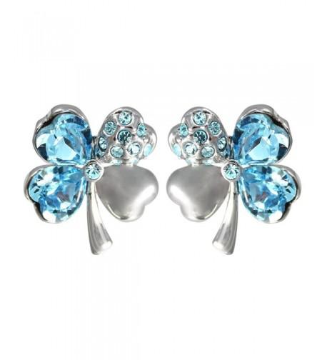 Swarovski Elements Crystal Rhodium Earrings