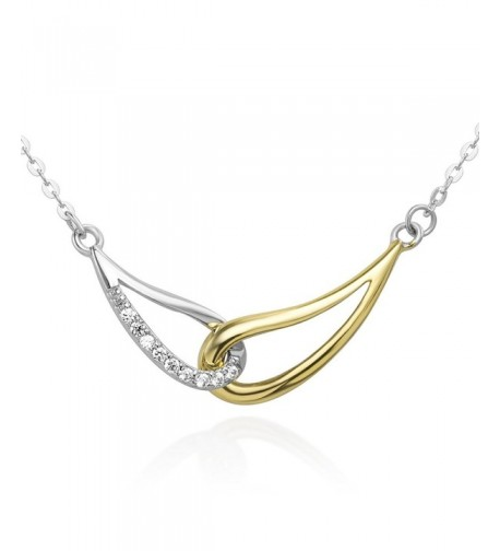 Sterling Infinity Endless Pendant Necklace