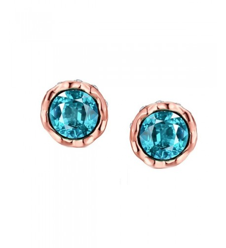 Earrings Plated Crystal Cubic Zirconia