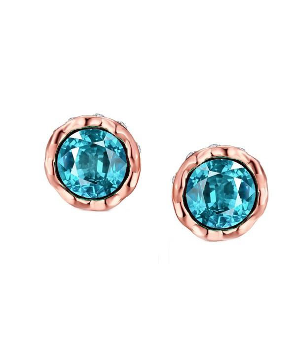 Earrings Plated Crystal Cubic Zirconia