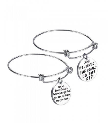 Inspirational Bracelets Friendship Adjustable Bracelet
