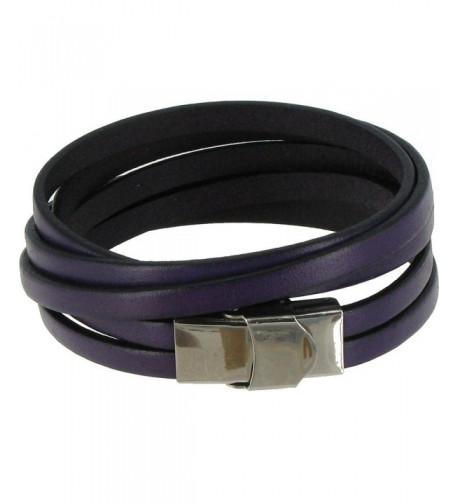 Poulettes Jewels Bracelet Leather Stainless