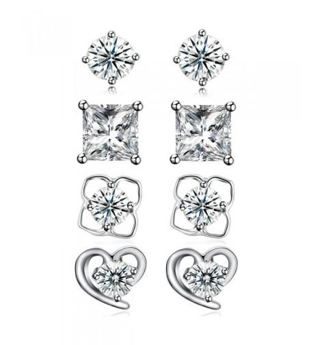 Sterling Silver Zirconia Earrings DreamSter