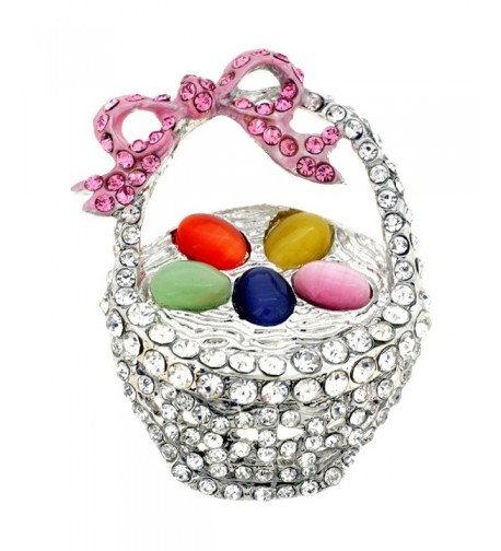Easter Basket Pin Fashion Brooch