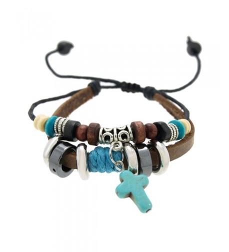 SWEETIE Pendant Bracelet Adjustable Turquoise
