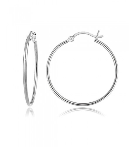 Sterling Silver 1 5mm Polished Earrings