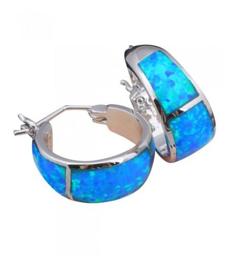 Silver Stamped Earrings Jewelry OE061