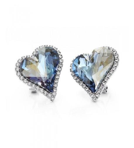 Neoglory Platinum Swarovski Elements Earrings