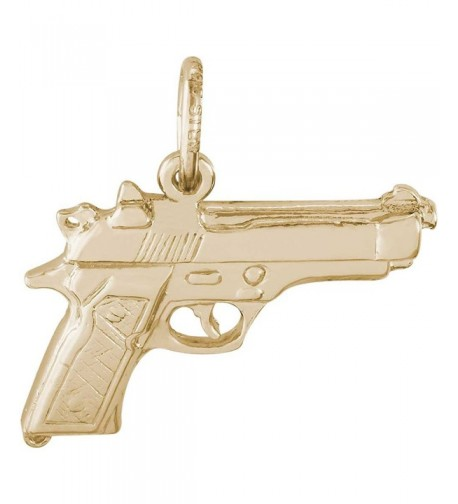 Rembrandt Charms Pistol Plated Silver