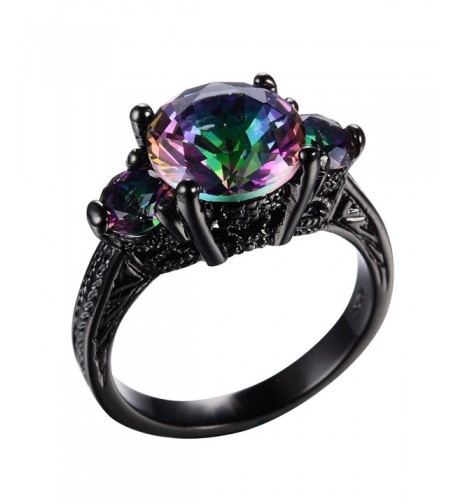 RongXing Jewelry Mysterious Rainbow Wedding