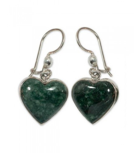 NOVICA Sterling Silver Shaped Earrings
