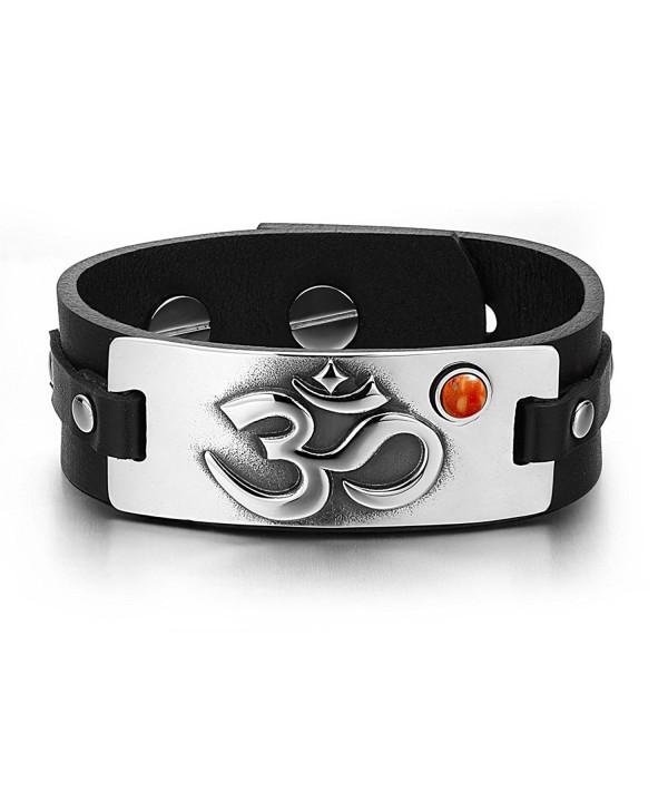 Ancient Tibetan Gemstone Adjustable Bracelet