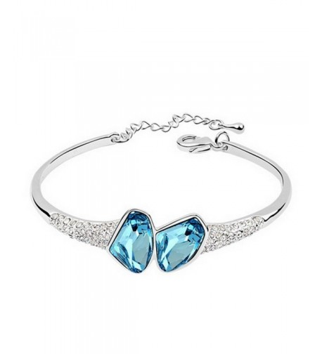 Alvdis Premium Shaped Crystal Bracelet