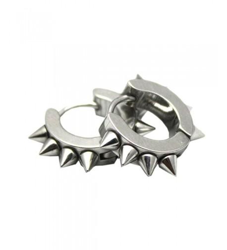 UM Jewelry Stainless Hoop Earrings