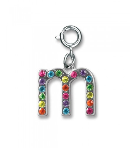 CHARM Rainbow Initial Letter Charms