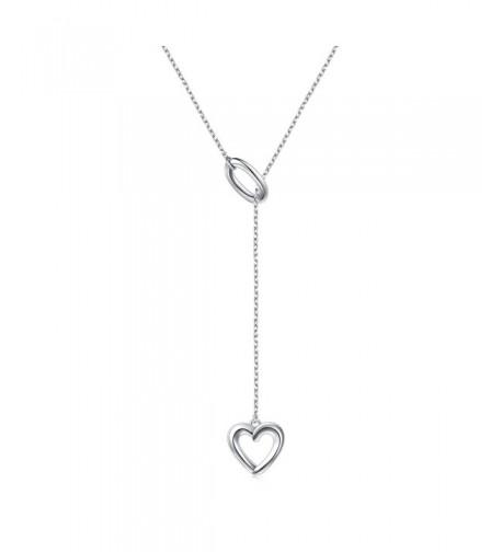 Necklace Sterling Silver Adjustable Shaped