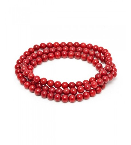 Stunning Stackable Simulated Stretchy Bracelet